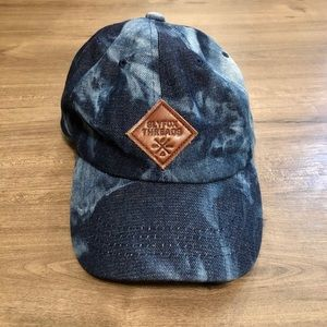 Slyfox Threads Tie Dye Denim Baseball Cap Hat